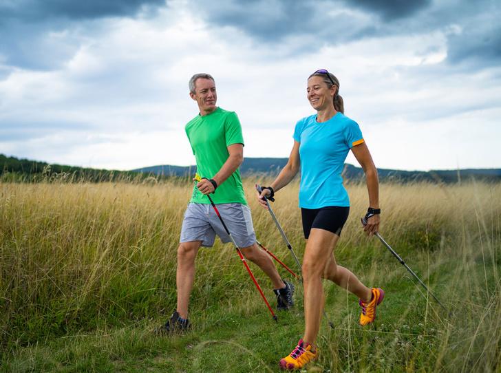 Фото №1 - Характер нордический: скандинавская ходьба как альтернатива бегу