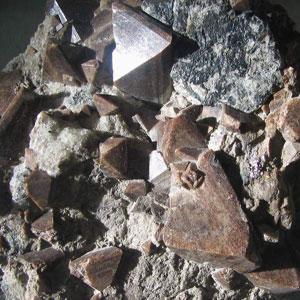 Фото №1 - Древние минералы уничтожены кислотой