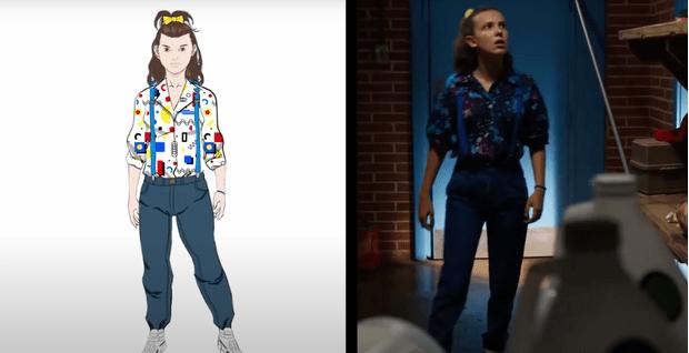 Фото №2 - Видео дня: историк моды проверяет на достоверность fashion-образы в «Очень странных делах»