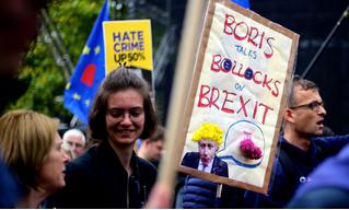 Английская королева согласилась остановить работу парламента