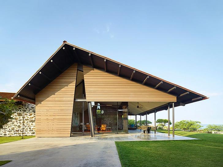 Фото №1 - Современный дом, вдохновленный гавайской культурой