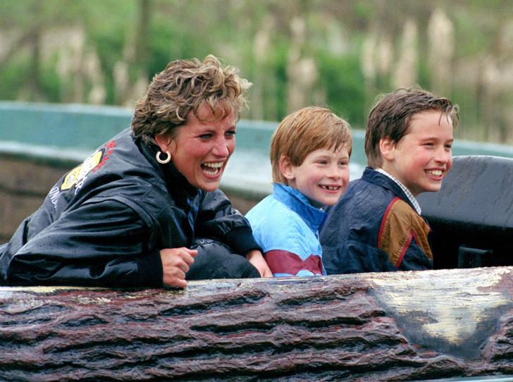 Фото №1 - Непосредственная мама: как Диана поддержала принца Уильяма на спортивном празднике