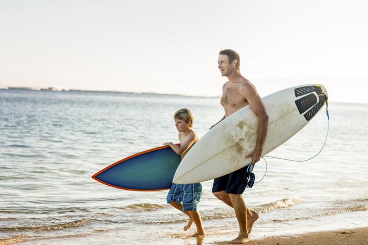 Фото №1 - Отцы, сбросившие лишний вес, могут уберечь своих детей от ожирения
