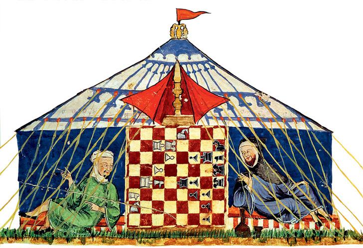 Фото №1 - История настольных игр: шахматы
