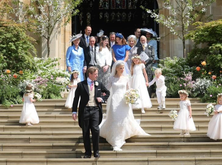 Фото №2 - Как свадьба Леди Габриэллы сплотила королевскую семью Виндзор