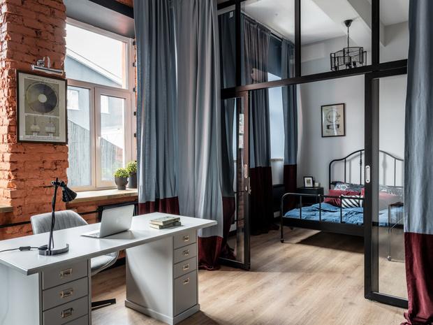 Фото №2 - Новый формат жизни: квартира-офис 52 м²