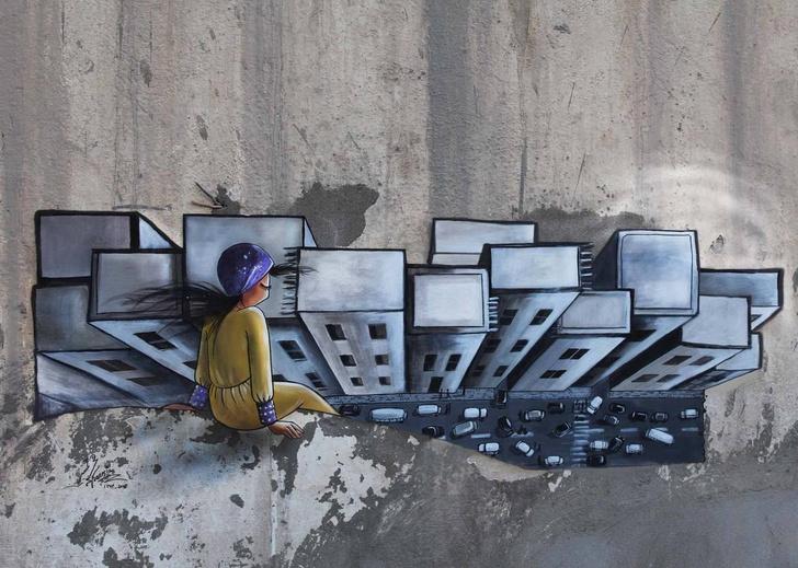 Фото №5 - You go, girl: 7 граффити, созданных женщинами о женщинах