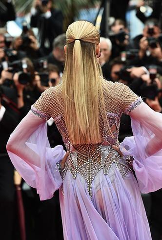 Фото №29 - Модные Канны-2018: яркие звездные образы седьмого дня кинофестиваля