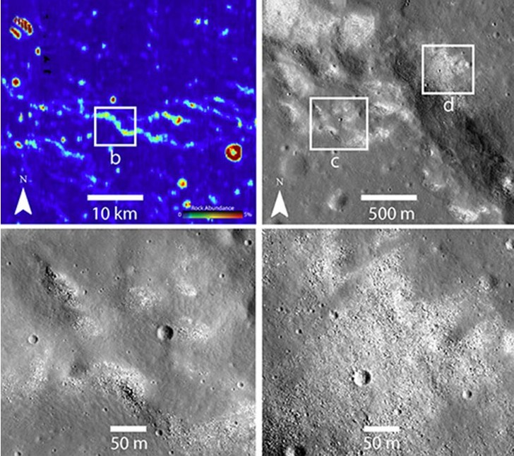Фото №1 - На Луне обнаружены признаки тектонической активности