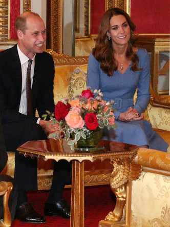 Фото №3 - Герцогиня против Первой леди: модная битва Кейт и Елены Зеленской в Букингемском дворце