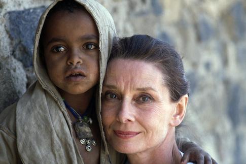 Одри Хепберн в Эфиопии