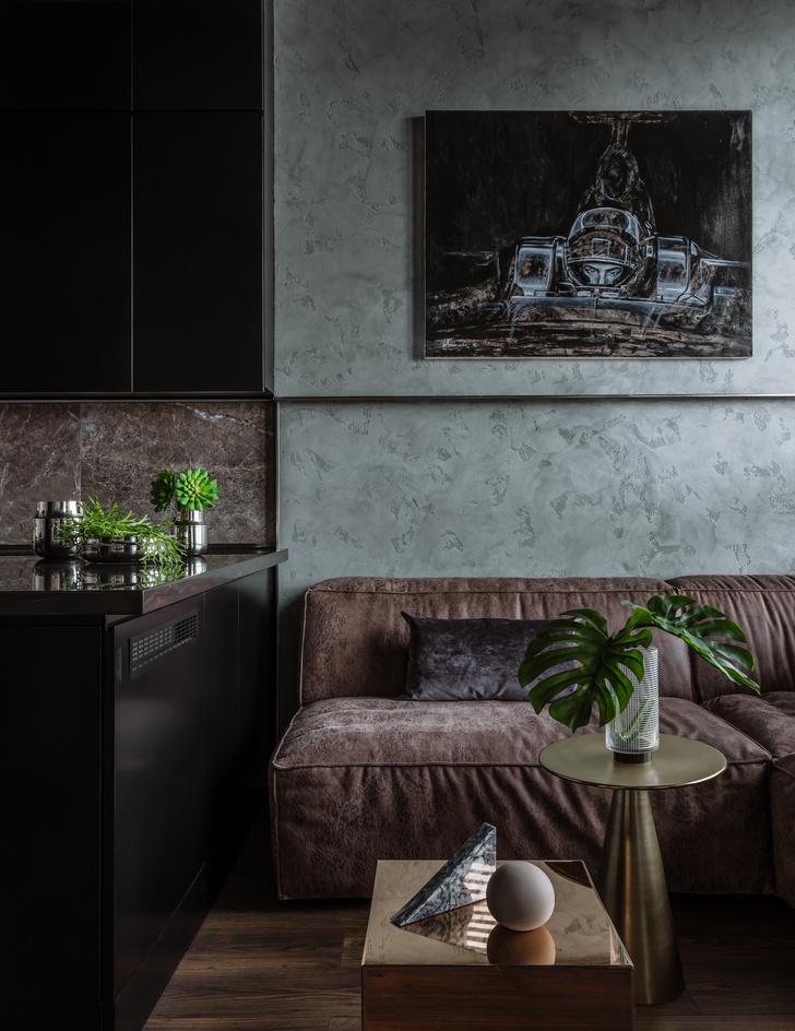 Фото №3 - Брутальная квартира 43 м² для любителя острых ощущений