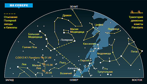 Фото №1 - Ночное небо: на что посмотреть в июне