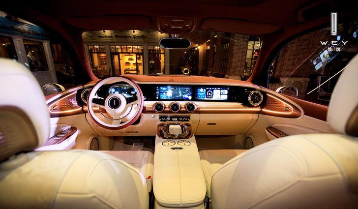 Фото №2 - В Китае показали самый жуткий автомобиль года. Он называется Wey Retro SUV