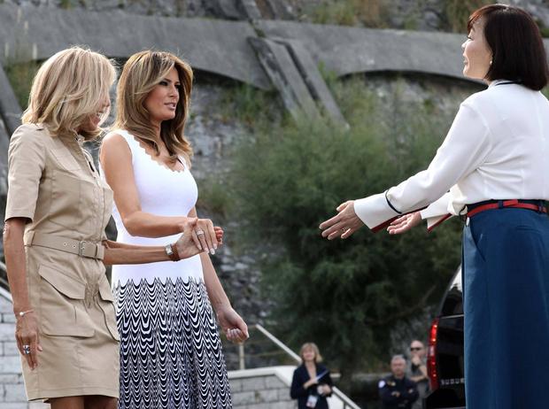 Фото №12 - G7 в Биаррице: как выглядят жены лидеров «Большой семерки»