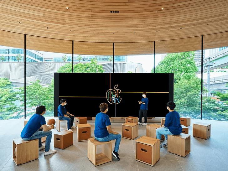 Фото №5 - Новый бутик Apple Store в Бангкоке: проект Foster + Partners