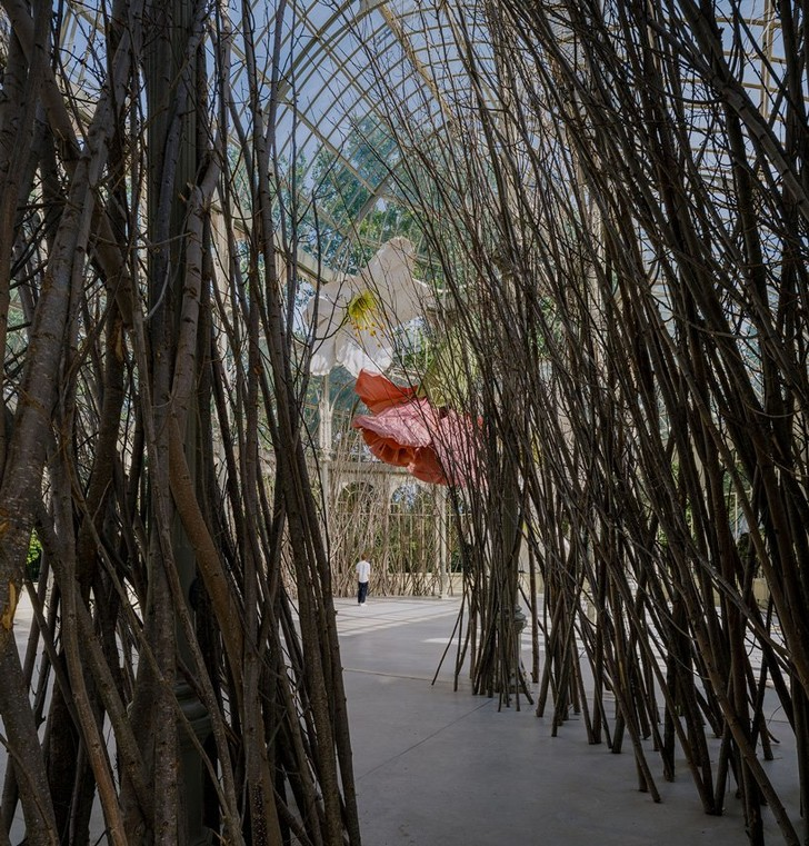 Фото №8 - Язык цветов: инсталляция в Хрустальном дворце в Мадриде