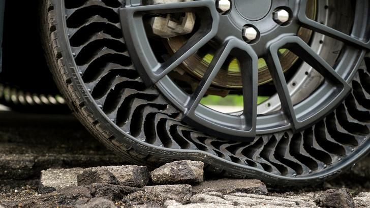 Фото №4 - Изобретены шины, которые никогда не нужно накачивать