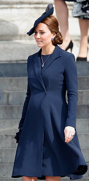 Фото №25 - В модном положении: две беременности герцогини Кембриджской (сравним?)