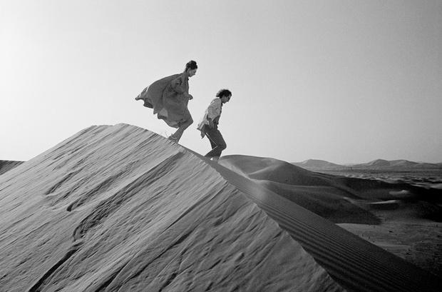 Христо и Жанна-Клод в поисках места для создания инсталляции, февраль 1982 г.
