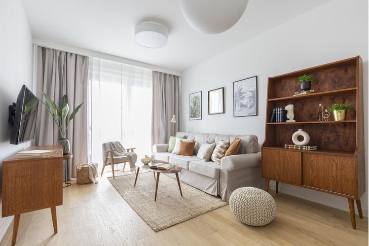Фото №1 - Светлая квартира 57 м² для молодого врача в Варшаве