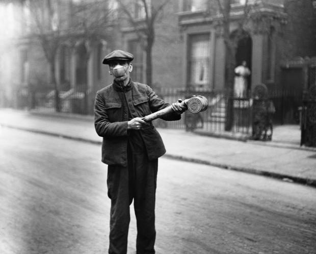 Фото №9 - Наглядный пример: как боролись с эпидемией испанки 100 лет назад