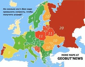 Фото №3 - Карта: количество смертей на дорогах в год