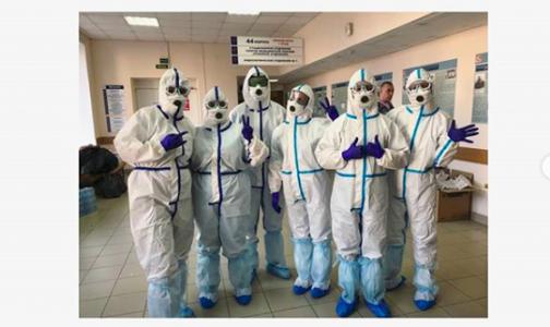 Фото №1 - В Первом меде растет число госпитализированных с COVID-19. Им отдали уже 350 койко-мест