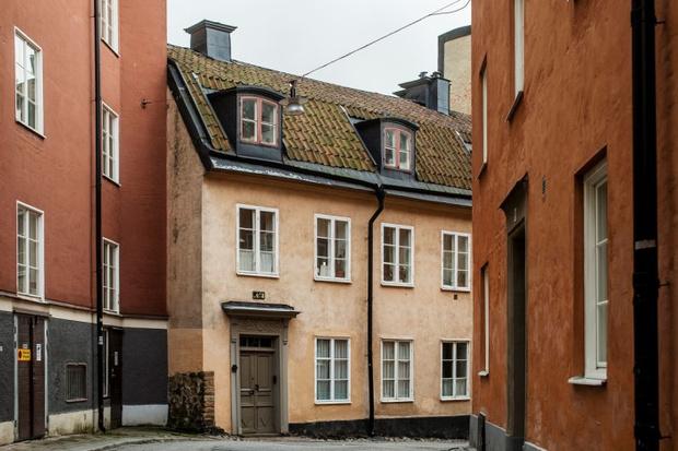 Фото №1 - Атмосферная квартира с изразцовой печкой в Стокгольме
