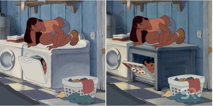 Фото №2 - «Дисней» изменил задним числом сцену в одном из классических мультфильмов