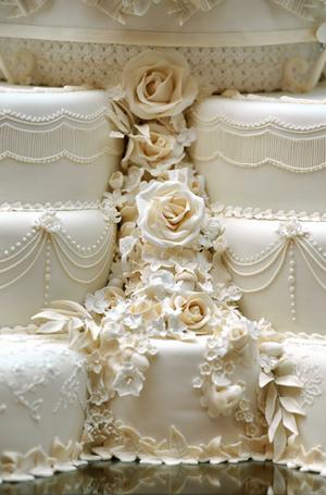 Фото №22 - Сладко: свадебные торты на королевских свадьбах