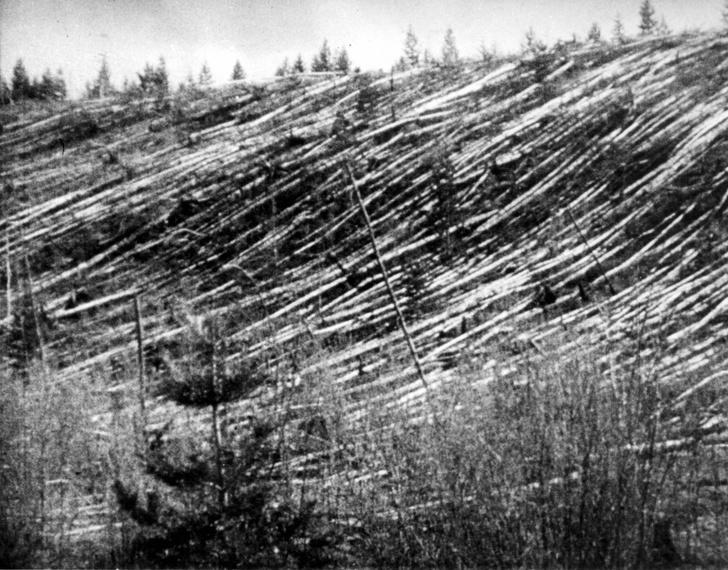 Фото №1 - Ученые раскрыли один из секретов Тунгусского метеорита