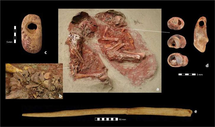 Фото №1 - Обнаружено древнейшее захоронение близнецов