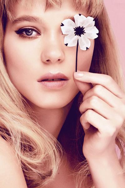 Candy Florale, Prada, Леа Сейду (Lea Seydoux)