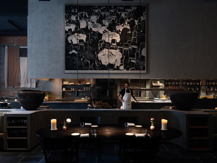 Фото №2 - Le Pristine: модный ресторан по мотивам фламандской живописи