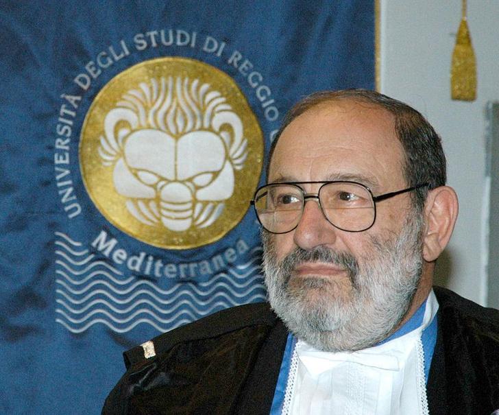 Фото №1 - Итальянский писатель Умберто Эко умер на 85-м году жизни