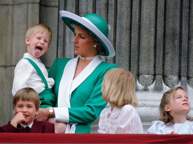 Фото №8 - История в фотографиях: какой мамой была принцесса Диана