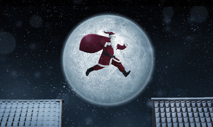 Фото №1 - Рассчитана скорость передвижения Деда Мороза в новогоднюю ночь