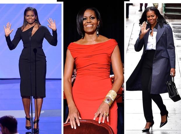 Фото №1 - От супруги президента к модной иконе: эволюция стиля Мишель Обамы