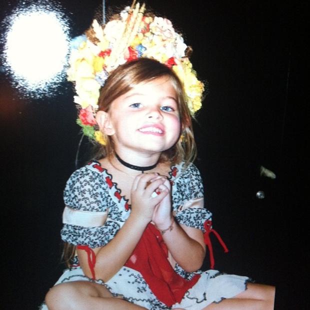 Фото №1 - Тилан Блондо: как сложилась жизнь «самой красивой девочки в мире»