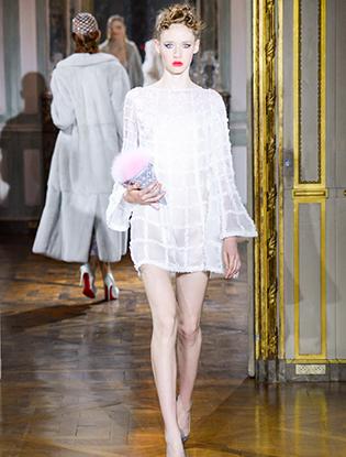 Фото №25 - Неделя Высокой моды в Париже: Ulyana Sergeenko Couture F2015