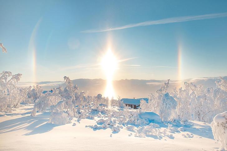Фото №1 - Ложное солнце