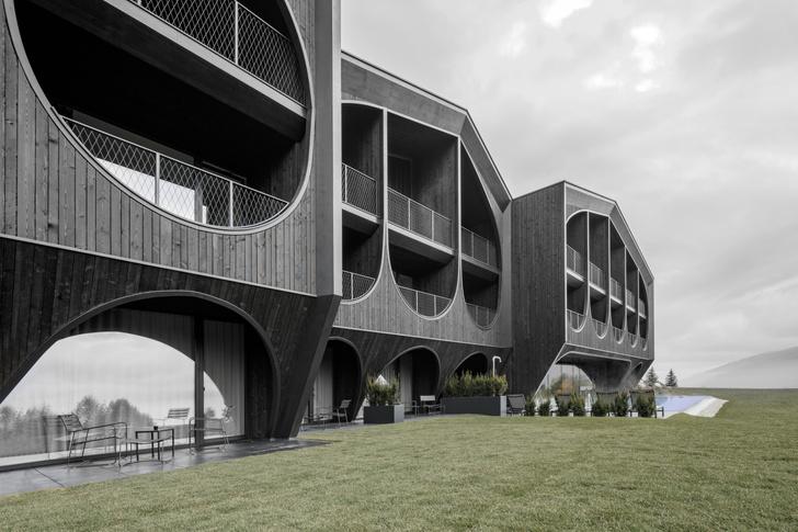 Фото №2 - Отель в Южном Тироле по проекту Петера Пихлера