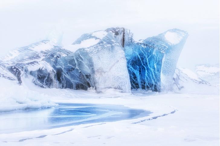 Фото №1 - Площадь льда в Антарктике достигла рекордно низких значений