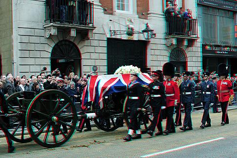 Похороны Маргарет Тэтчер