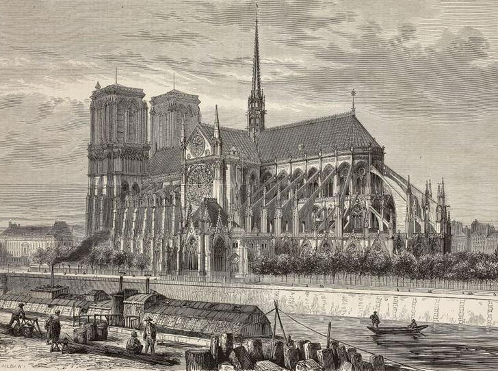 Фото №3 - Как будут восстанавливать cобор Парижской Богоматери