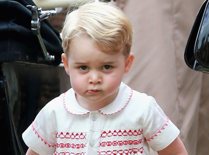 Фото №1 - Принца Джорджа преследуют папарацци