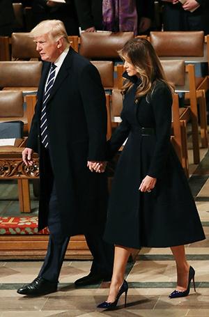 Фото №29 - Мелания Трамп: новые стандарты стиля Первой леди