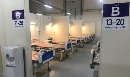 Фото №1 - В Петербурге осталось 7,7% свободных коек для пациентов с COVID-19. К приему тяжелых и среднетяжелых готовят еще 4 корпуса «Ленэкспо»