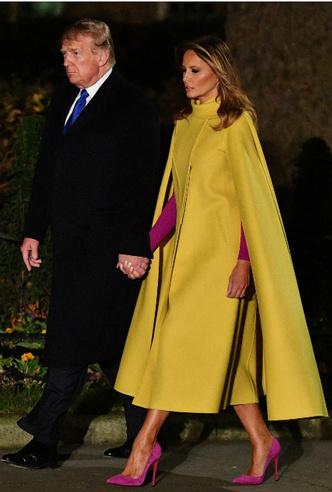 Фото №5 - Секреты Мелании: как Первая леди США выиграла модную битву у королевской семьи
